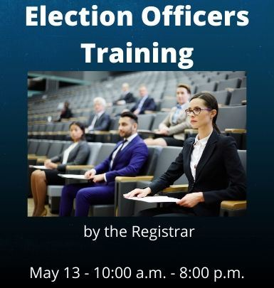 Election Officers Training